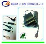 8W UL Plug AC/DC Adapter Black