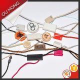 Tag plástico do selo da melhor roupa feita sob encomenda dos acessórios do vestuário