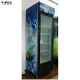 холодильник рекламы охладителя двери качания 280L стеклянный