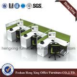 現代2つのシートのオフィスの区分のキュービクルワークステーション(HX-6D041)