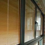 Het thermische Glijdende Venster van het Profiel van het Aluminium van de Onderbreking met Blind binnen Dubbel Glas Kz305