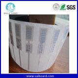 ISO18000-6c UHF 외국인 H3 RFID 접착성 라벨
