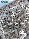 Алмазные резцы делят на сегменты для диска вырезывания гранита