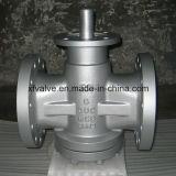O balanço invertido do selo do óleo da pressão lubrific flangeou válvula de plugue da extremidade