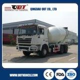 트럭 & 반 트레일러를 수송하는 Obt 9~12 Cbm 구체 믹서