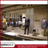 Menswear Fashion Shop Mostrar accesorios de lujo tienda de diseño de interiores
