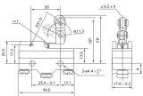 Schalter des Mikro-Cm1743