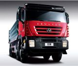 Technologie-Kipper China-Iveco/Lastkraftwagen mit Kippvorrichtung heiß in Äthiopien