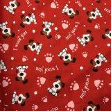 ткань 100% Twill хлопка ткани 2017winter напечатанная фланелью для повелительниц и пижам и Sleepwear людей