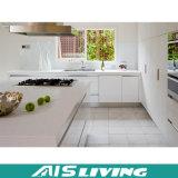 Muebles blancos de las cabinas de cocina del color del ahorro de espacio para la pequeña cocina (AIS-K151)