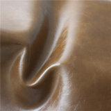 Cuero sintetizado respetuoso del medio ambiente del PVC para los muebles, sofá (498#)