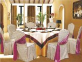 ポリエステル宴会の椅子カバーおよびテーブルクロス