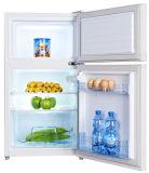 Mini réfrigérateur de double porte de 85 litres