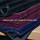 A escova 100% do poliéster/revestiu/lig/reunindo a tela de veludo do poliéster para o vestuário/sapatas/sofá