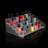 Freie Acrylgegenregale für Nagellack, PDQ kosmetische Bildschirmanzeige