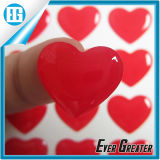 Impermeable Ojo Forma Sweet Lovers Cúpula Etiqueta Transparente