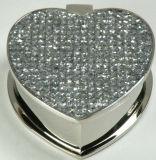 Boîte de bijoux Diamant-Encroûtée, boîte de stockage de luxe de bijoux de Keepseek