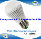 Warranty 2 Years를 가진 3W-12W E27/E14/B22/GU10 LED Bulb/LED Bulbs Light를 위한 Yaye Top Sell USD2-5/PC