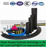 En idraulica 853 2sn del tubo flessibile di Enduable due di acciaio della treccia ad alta pressione dei fili