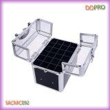 악어 PVC와 Acrylic Vanity Box Easy Carry Nail Beauty Box (SACMC092)