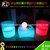 조명된 재충전용 LED 플라스틱 정연한 테이블