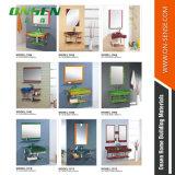 Heißer Verkaufs-ausgeglichenes Glas-Badezimmer-Schrank