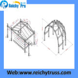Алюминиевое Stage Truss для Concert Outdoor Mini DJ Truss