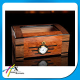 Aceitar o pedido feito sob encomenda e o Humidor de madeira do charuto do cedro espanhol