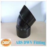 ABS Dwv die van de Grootte van 1.5 Duim 1/8 Korte Kromming passen