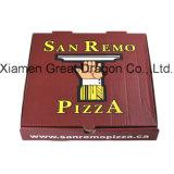 Contenitore ondulato di pizza del Kraft dell'euro calibro sottile di stile (PB12306)