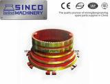 Shanbao Zerkleinerungsmaschine zerteilt konkaves und Umhang im materiellen Mangan