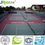 優秀なバッファリングはテニスコートのためのフロアーリングを遊ばす