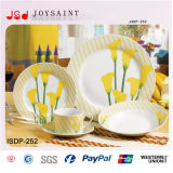 Reeks de van uitstekende kwaliteit van het Diner van het Porselein 18PCS