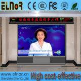 Uso do estágio de Elnor para o sinal interno do diodo emissor de luz dos eventos HD P4