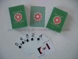 Tarjeta de juego de papel impresa desplazamiento de tarjeta que juega, juego de mesa