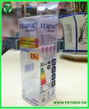 Plastiklampen-verpackenkasten des zoll-LED