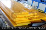 Strato giallo dell'unità di elaborazione per la costruzione del Industried