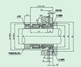 Selo mecânico do silicone para Pumpe (QG 502)