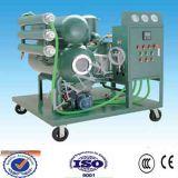 수평한 증발기 두 배 단계 진공 절연제 기름 정화기