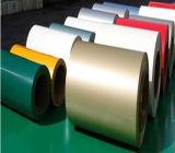 PPGI/Colorは炭素鋼のコイルSs400/Q195/Q235に塗った