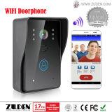 De nieuwe Functie WiFi VideoDoorphone met Bidirectionele Intercom opent de Deurbel van de Intercom Funtion