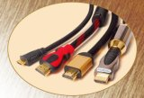 HDMI Cable с Золотом-Plated Connector 19p Male к 19p Male