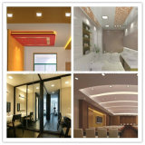 Incluir la superficie montada superficial de la fábrica del programa piloto 12W >90lm/W AC85-265V del LED que la lámpara del panel cuadrada montada de la iluminación de techo LED abajo se enciende