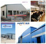 Structuur van het Staal van Hapy de PrefabSheed voor het Huis van de Landbouw van het Gevogelte