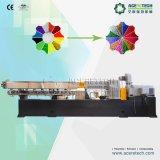 Maquinas de extrusão de parafusos duplo rotativo para granulometria de maça de cores