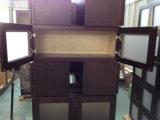Gabinetes americanos de madera sólida del arce del marco