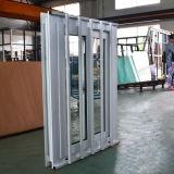 Good Quality White Colour UPVC Profile Sliding Window with Stainless Steel Burglar Net Kz251