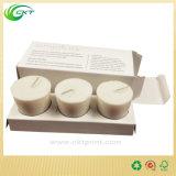 ثلاثة حزمة بيضاء شمعة صندوق مع علامة تجاريّة يطبع ([كت] - [كب-220])