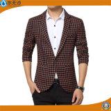 La manera del OEM de la fábrica Outwear la chaqueta ocasional de los hombres de la chaqueta del algodón