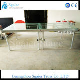 Stadium van het Huwelijk van de Decoratie van het Glas van het aluminium het Duidelijke Acryl